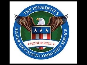 President's Higher Education Community Service Crest Mark